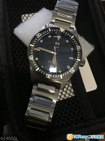 出售99.99% 新MWW no.4 Diver watch(not Rolex,IWC,Seiko prospex)