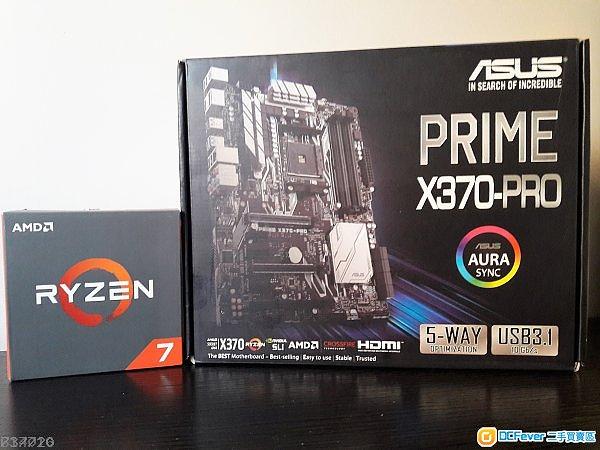 Ryzen 7 1700X + ASUS PRIME X370-PRO X370 Corsair DDR4 3000MHz 16GB (2