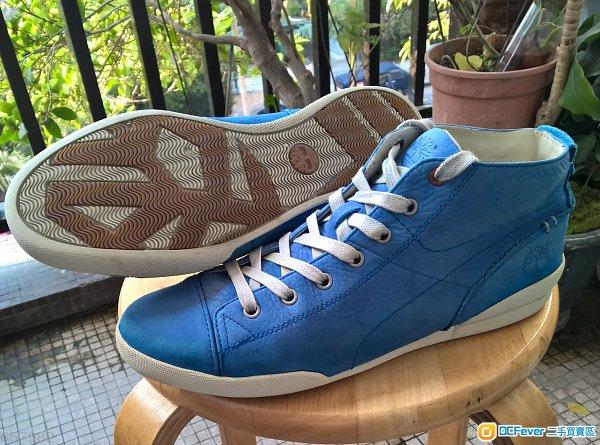 新淨 Timberland Blue Suede Earthkeeper 藍色皮鞋