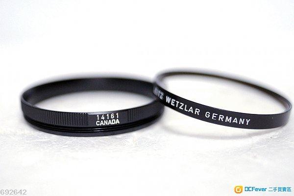 Leica R UV Filter 14161 for Elmarit 135mm, Summicron 90mm (90%New)