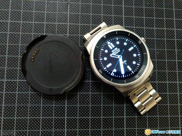 LG G watch R sliver