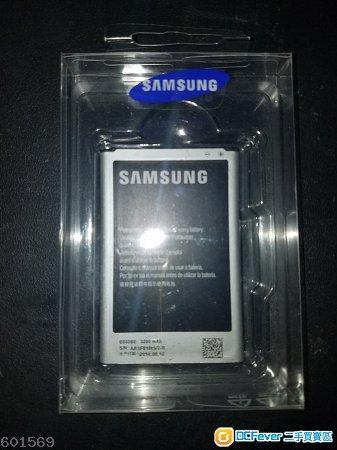 原裝三星專用手機電池 Samsung Note 3 N9000/9005 (with NFC) 私保7日, 包本地平郵