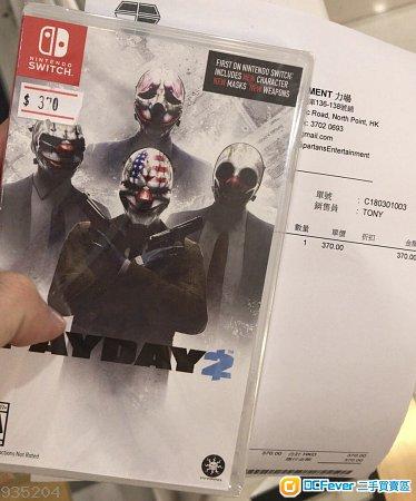 Switch NS射击游戏 Payday 2(美版)