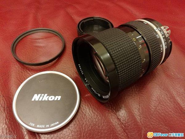 Nikon 35-70mm Ais f3.5 記者鏡