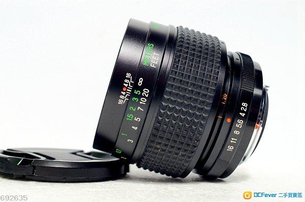 1比1微距鏡 Vivitar Macro MC 55mm f2.8 (接新90% New)