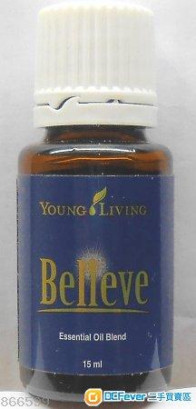 美國名牌 Young Living 的 Believe 香精油(15 ml。全新。)