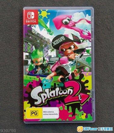 Nintendo Switch(NS) Splatoon2 美版 (另收日版