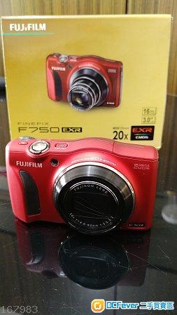 Fijifilm Finepix F750 EXR (red)