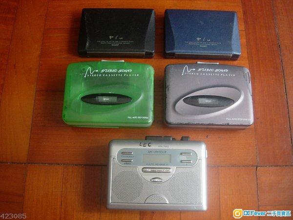 Cassette Walkman 5 部