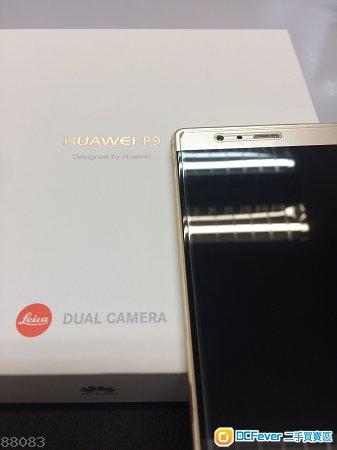 HUAWEI 華為 P9 4+64G(金色)香港行貨