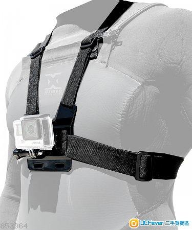 副廠 Gopro Hero7 專用雙肩胸帶 (代用)