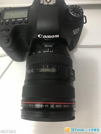 Canon EOS 6D 連鏡頭