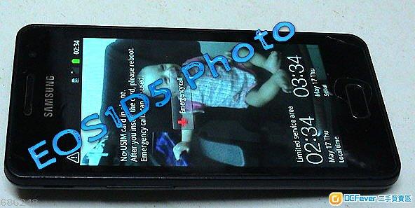 今日出售三星 SAMSUNG GALAXY M Style Magical SHW - M340S 黑色智能手機一部