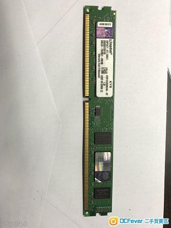Kingston DDR3 1333 MHz  4GB ram   kvr1333d3n9/4g-sp