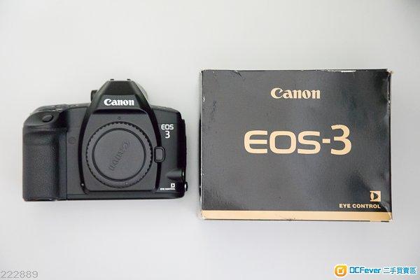 Canon Eos 3 菲林相機 Film Camera