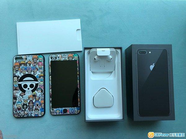 iPhone 8 Plus Black 64GB 港行 有保1/19