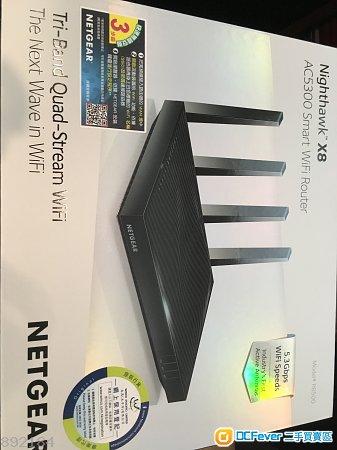 全新Netgear R8500 AC5300 Nighthawk X8