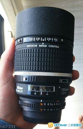 Nikon AF 135mm F2D DC -NIKKOR