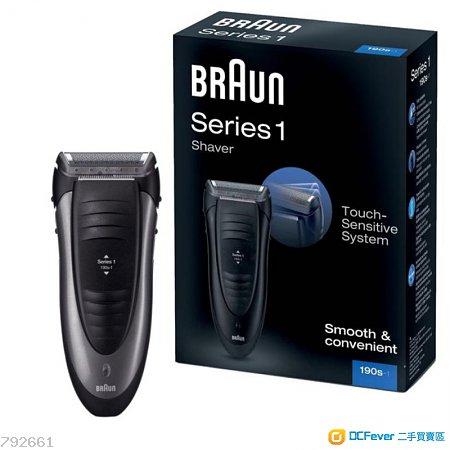 全新 德國百靈BRAUN-1系列舒滑電鬍刀190s