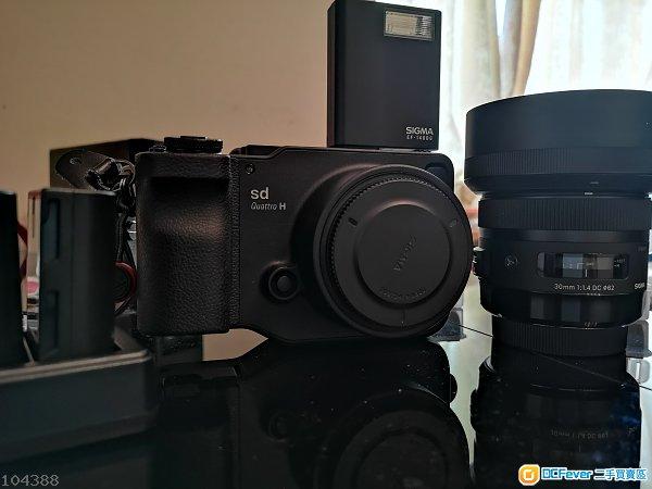 適馬 SIGMA SD Quattro SDQ H  1.3x + 30mm f1.4 DC