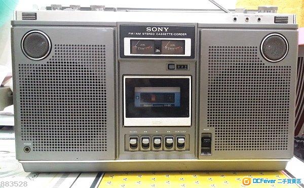 Sony CF-575S   懷舊  手提卡式/收音機
