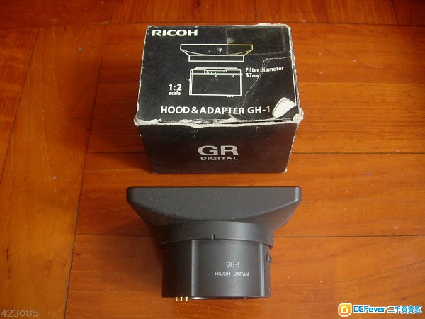 Ricoh GR GH-1 ( Hood & Adapter ) with box