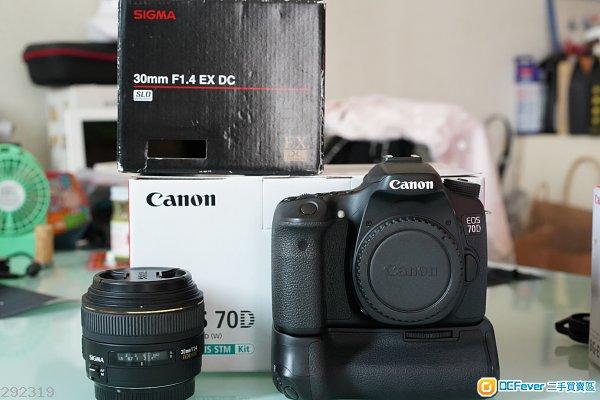 Canon 70D + Sigma 30 1.4 ex dc