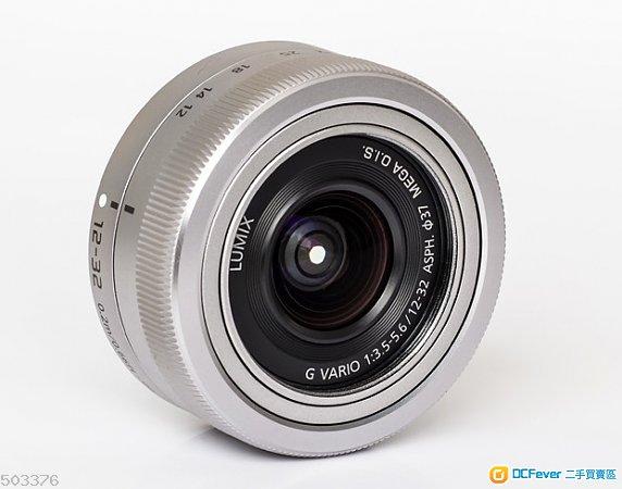 8成新 Panasonic 12-32mm f/3.5-5.6 銀色