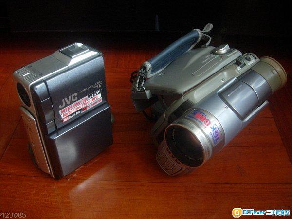 JVC  數碼 dv 攝錄機  ( 兩部 )