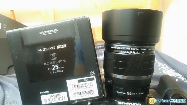 Olympus 25mm F1.2