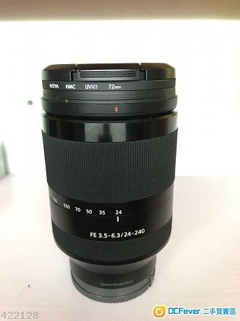 Sony SEL24240 FE 24-240mm F3.5-6.3 OSS 90%new