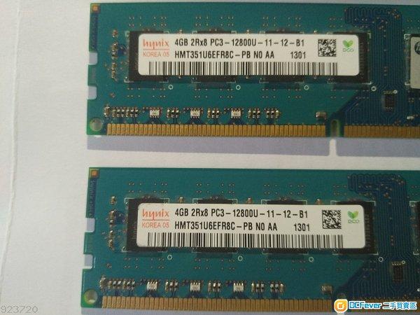 hynix ddr3 1600 8G(4g*2) 桌面機ram