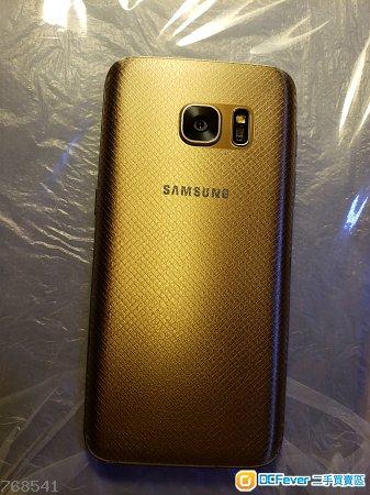 Samsung S7 金色32GB 行貨 有盒 85%新