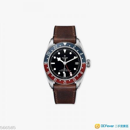 全新 2018 Baselworld Tudor GMT 皮帶連膠紙 m79830rb-0002