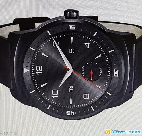 LG G Watch R W110 智能手錶 (9成9新)