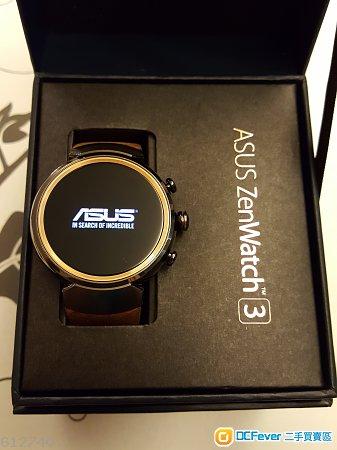 Asus ZenWatch 3 可打電話 智能手錶