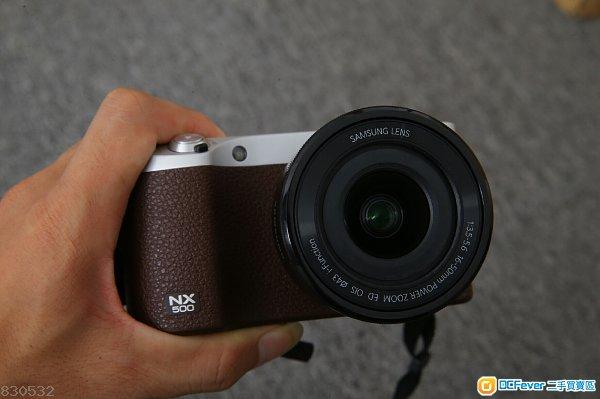 Samsung NX 500 NX500 套装 帶 16-50mm PD ZOOM f/3.5-5.6 4K拍摄視頻