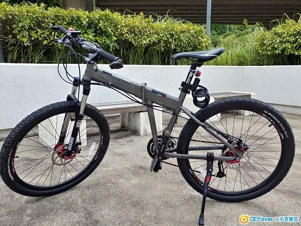 JAVA 27 速山地摺單車 27 speed folding mountain bike