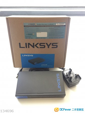 Linksys LGS108  8-port Gigabit Switch x 2