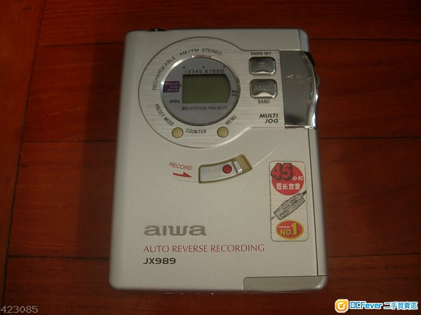 Aiwa JX989 Auto Reverse 錄音 Cassette Walkman
