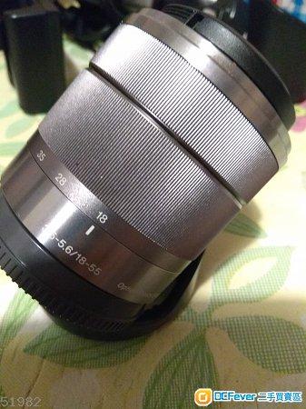 Sony NEX kit lens 18-55 OOS