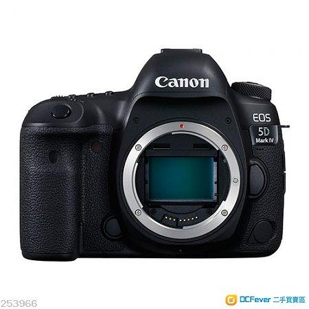 95%新Canon 5D Mark IV Body 行貨有保養有單全套