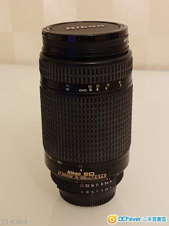 Nikon 70-300mmED F4鏡頭