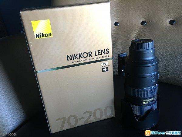 99.99%新Nikon 70-200mm f2.8G ED VR II