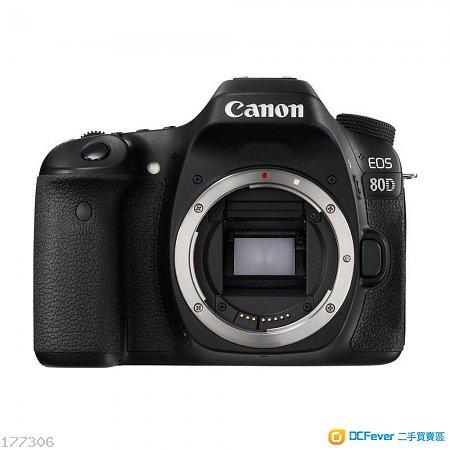 CANON EOS 80D + BG-E14