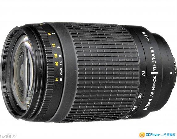 尼康 70-300mm f.4-5.6 G鏡