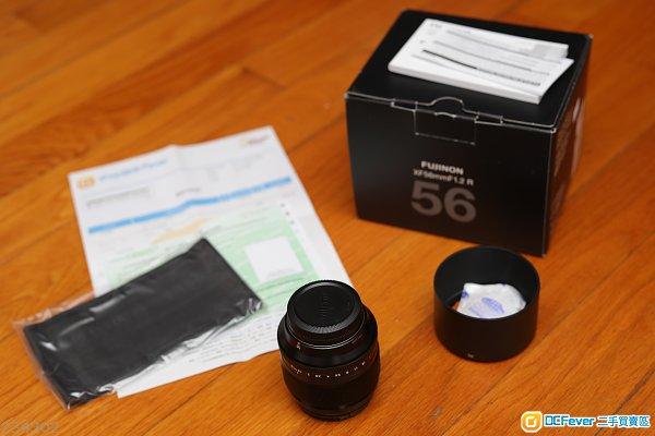 Fujifilm XF56 1.2 R