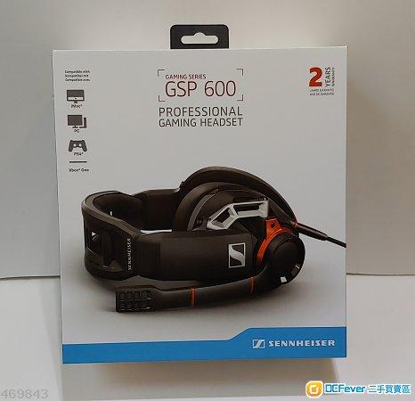 100%全新Sennheiser GSP600專業遊戲有線耳機