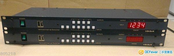 kramer vertical interval switcher vs-5x4