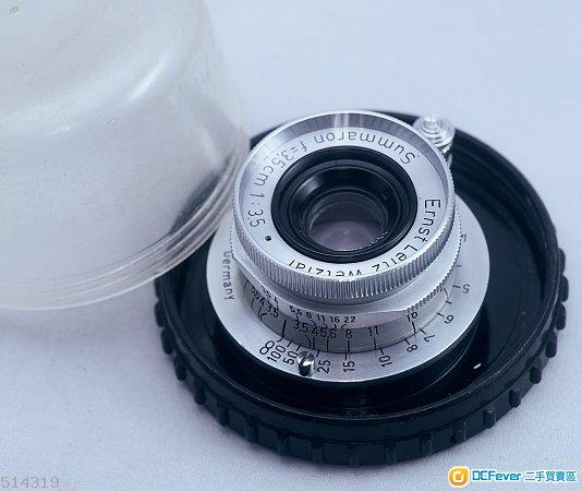 Leica Leitz Summaron 35mm F/3.5 LTM